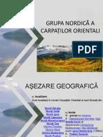 Grupa Nordică a Carpaților Orientali