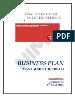 1journal Business Plan (Mahesh)