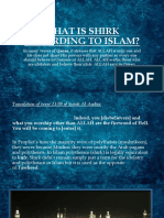 What is Shirk According to Islam