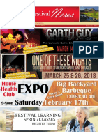 Sun City Festival February Newsletter