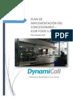 Plan de Implementación Del Concesionario