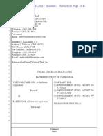 Vertical Tank v. BakerCorp - Complaint