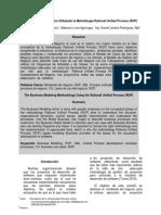 Artículo -Modelamiento de Negocios