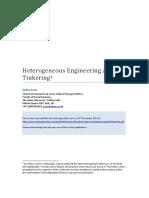 Law - 2011 - Heterogeneous, Engineering and Tinkering