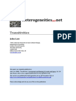 Law - 2000 - Transitivities