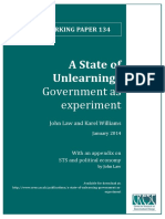 Law & Williams - 2014 - A State of Unlearning