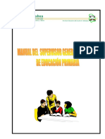 Manual Del Supervisor General de Sector