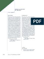 Aguirre, J - La Forma Aristotélica y la solución de las Aporías del libro Beta