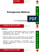 4.1 Farmacología General