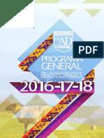 Agenda Asambleas de Dios 2016 Al 2018
