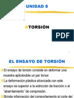 8 - Torsión