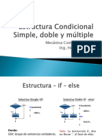 Estructura Selectiva Simple, Doble y Multiple (1)