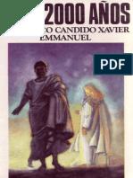 Candido Xavier, Francisco - Hace 2000 años.pdf