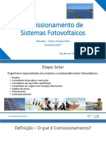 Etapa Solar- Comissionamento