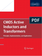 Fei Yuan-CMOS Active Inductors and Transformers_ Principle, Implementation, And Applications-Springer (2008)
