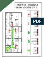 0117-Evakuacijski Plan - 3B