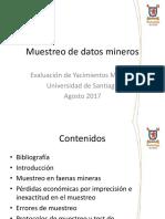 Muestreo de datos mineros