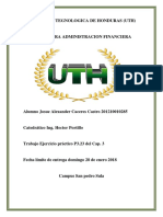 Josue Caceres Ejercicio p3.23 Administracion Financiera.