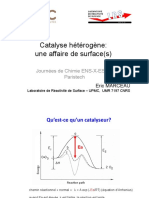 catalyse heterogene