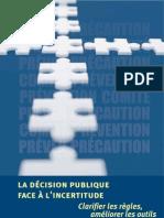 Avis-CPP Decision Et Incertitude
