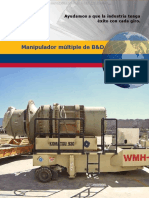 Catalogo Manipulador Multiple Bd Componentes Camiones Mineros Diseno Caracteristicas Especificaciones Accesorios