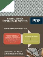 Madurez Gestión Corporativa de Proyectos