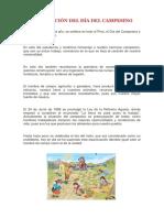 Composición Del Día Del Campesino