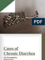 Cases of Chronic Diarrhea (1)