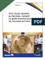 Manitoba Canada Immigration Cic Mpnp Workbook Fr