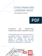 Enfoque Del Libro Marketing Financiero, Octubre 2017