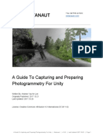 A Guide to Capturing and Preparing Photogrammetry for Unity