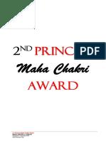 2nd Princess Maha Chakri Award