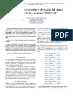 Analisis de La Rosa de Los Vientos de La Cuidad de TOLEDO - ESPAÑA Año 2009