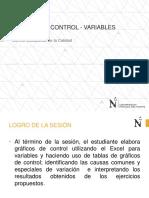 2.-Gráficas de Control Para Variables