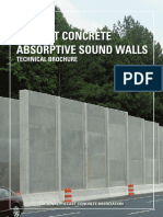 Absorptive Precast Concrete Soundwall Brochure Edited