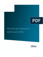 Manual Instalacion SOFIA Gestion