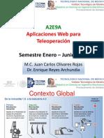 Aplicaciones Web para Teleoperacion