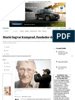 7 Murió El Fundador de Ikea, Ingvar Kamprad ELTIEMPO
