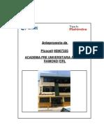 Tss 95907325 Academia Pre Universitaria Antonio Raymondi Eirl