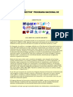 Documento Rector Pnfa