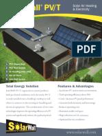 Brochure PV-T En