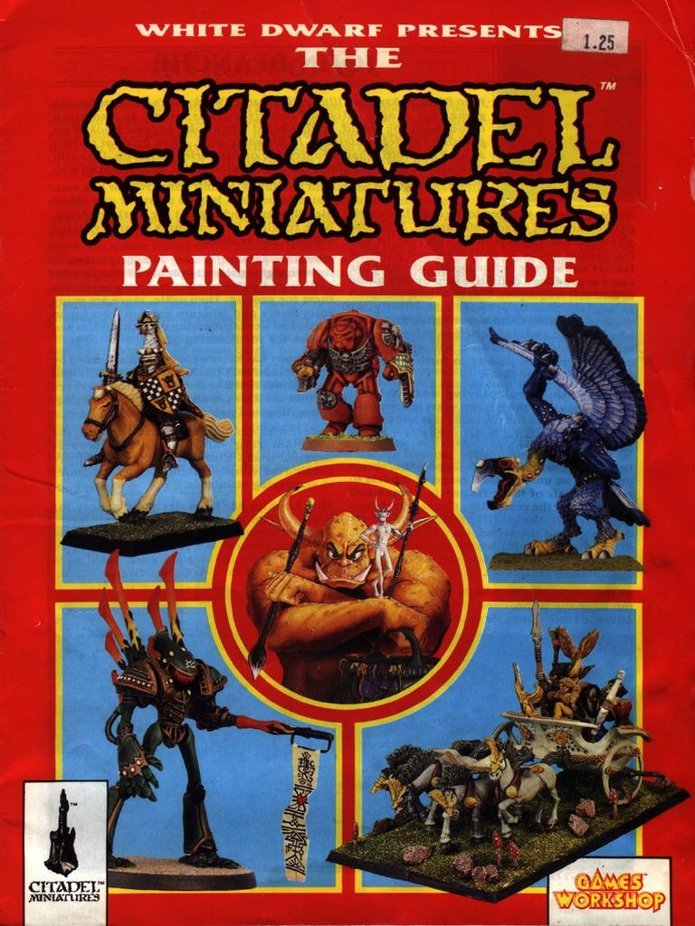 citadel miniatures painting guide pdf rh scribd com Citadel Paint Chart Citadel Paint Chart