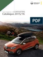 Renault AccessoryCatalogue 2015