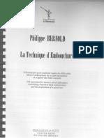 P. Bernold - La Technique d´Embouchure