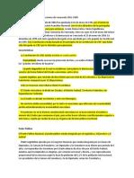 Comparación de Las Constituciones de Venezuela 1961-1999