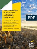 Ey Finance Transformation in Insurance