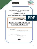 Informe Final de Habilidades Sociales