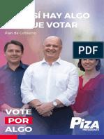Plan de Gobierno PIZA
