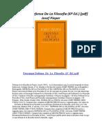 Defensa de La Filosofia (6ª Ed.)