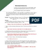 2010Bluebooking PracticeWorksheetKEY